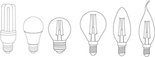 หลอดไฟนีออน LED ยาว